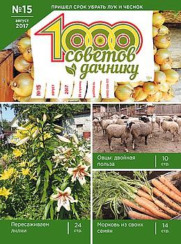 1000 СОВЕТОВ ДАЧНИКУ №15 2017