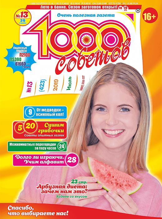 1000 СОВЕТОВ №13 2019