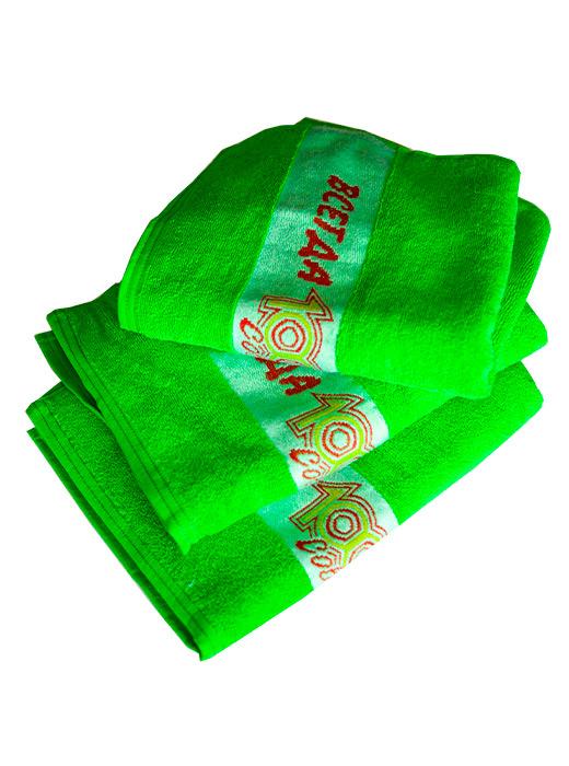 Полотенце «1000 Советов» зеленое