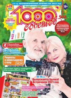 1000 СОВЕТОВ №23 2020