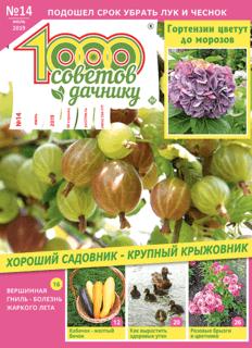 1000 СОВЕТОВ ДАЧНИКУ №14 2019