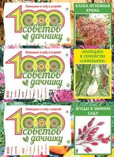 Набор всех журналов «1000 Советов дачнику» за 2020г