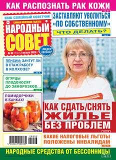 Народный совет №33 2020