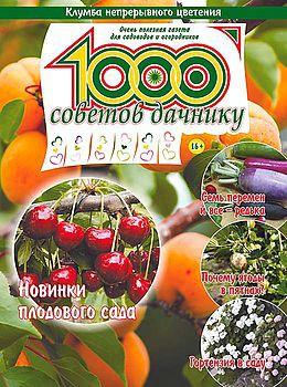 1000 СОВЕТОВ ДАЧНИКУ №13 2016